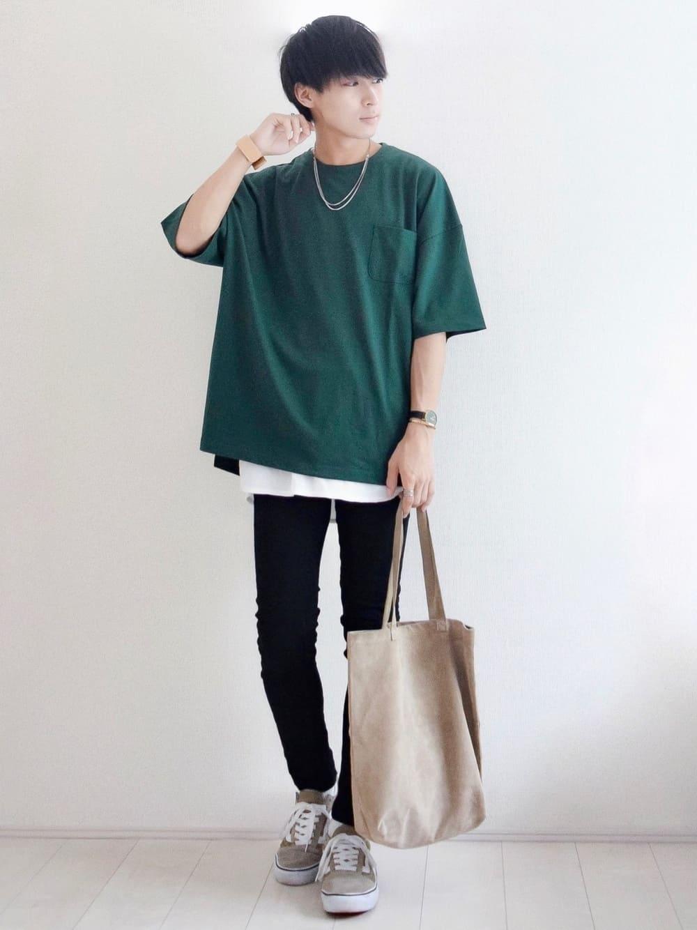 男子高校生の服装
